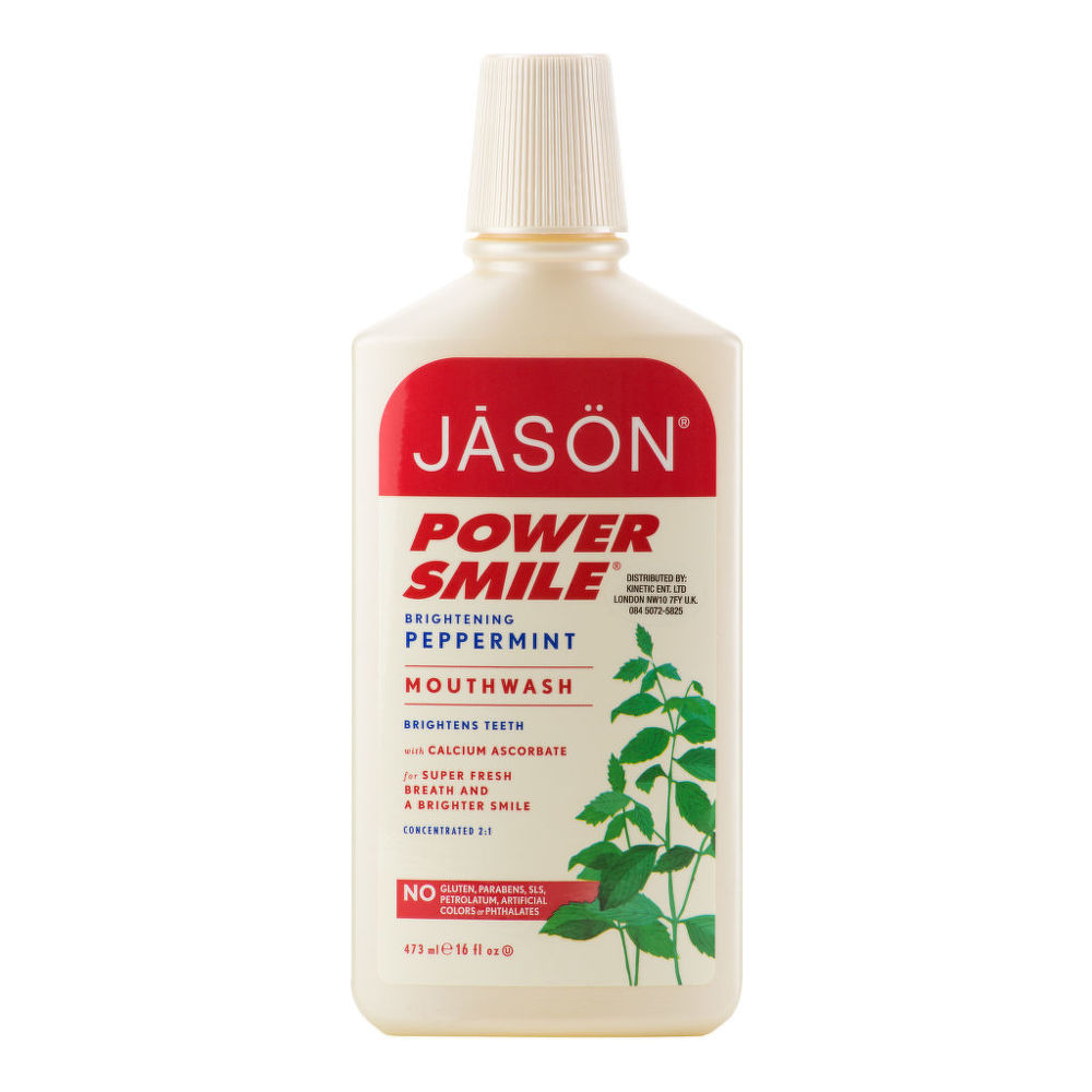 Voda ústní Powersmile 473 ml  JASON