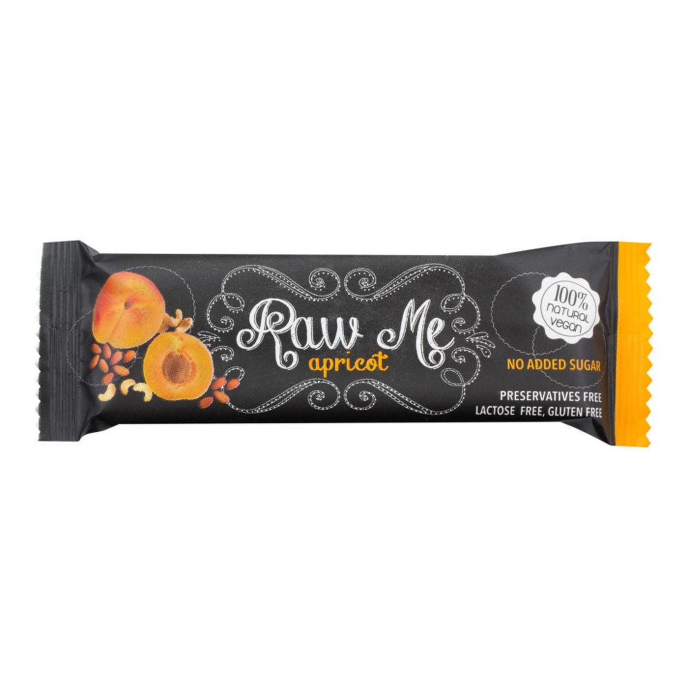 Tyčinka ovocná s příchutí meruňky 45g   RAWME