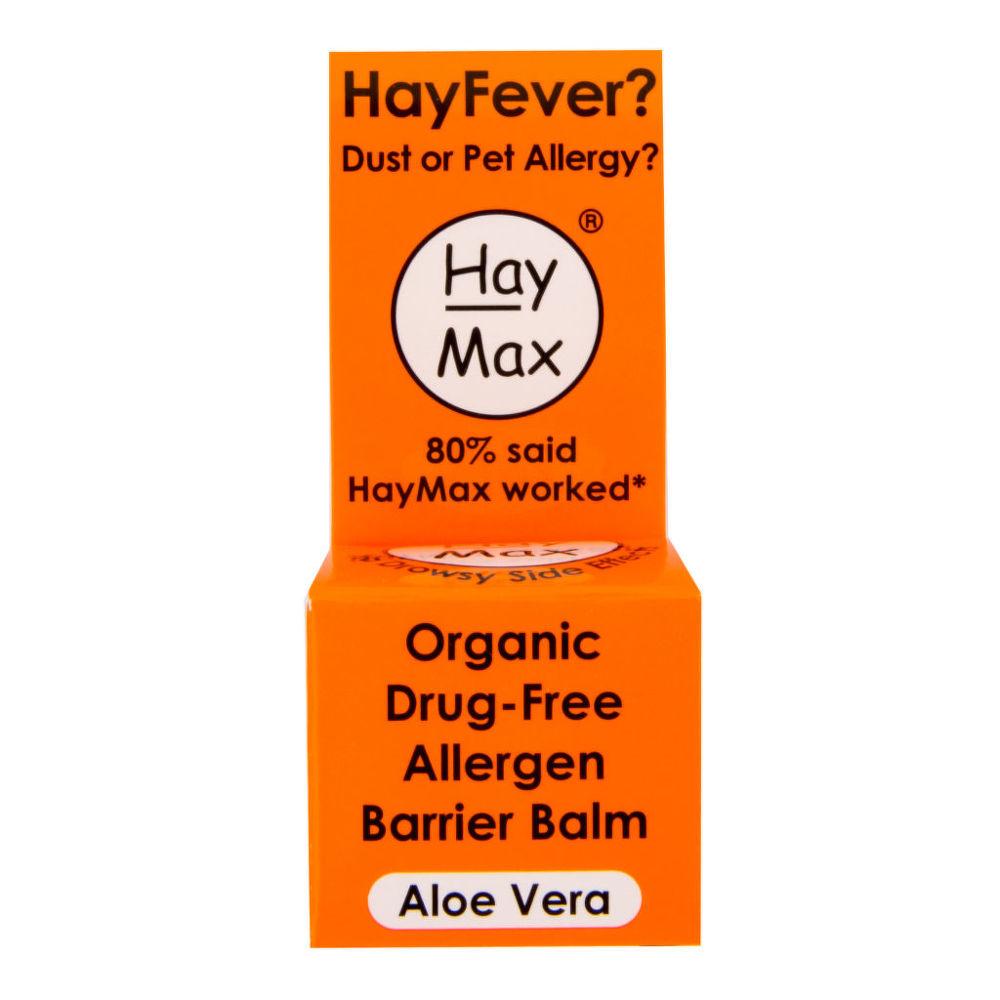 HayMax Aloe Vera přírodní prostředek na alergii 5 ml BIO HayMax