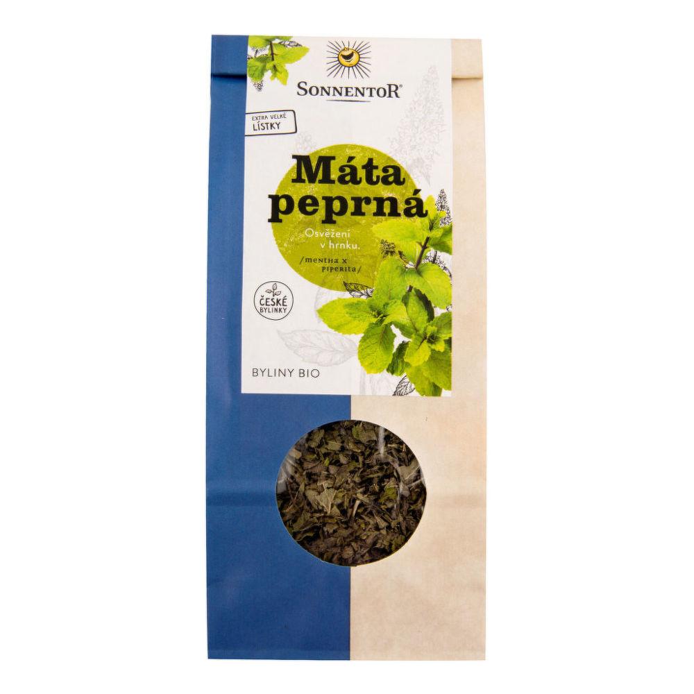 SONNENTOR Čaj Máta peprná sypaný 50 g BIO