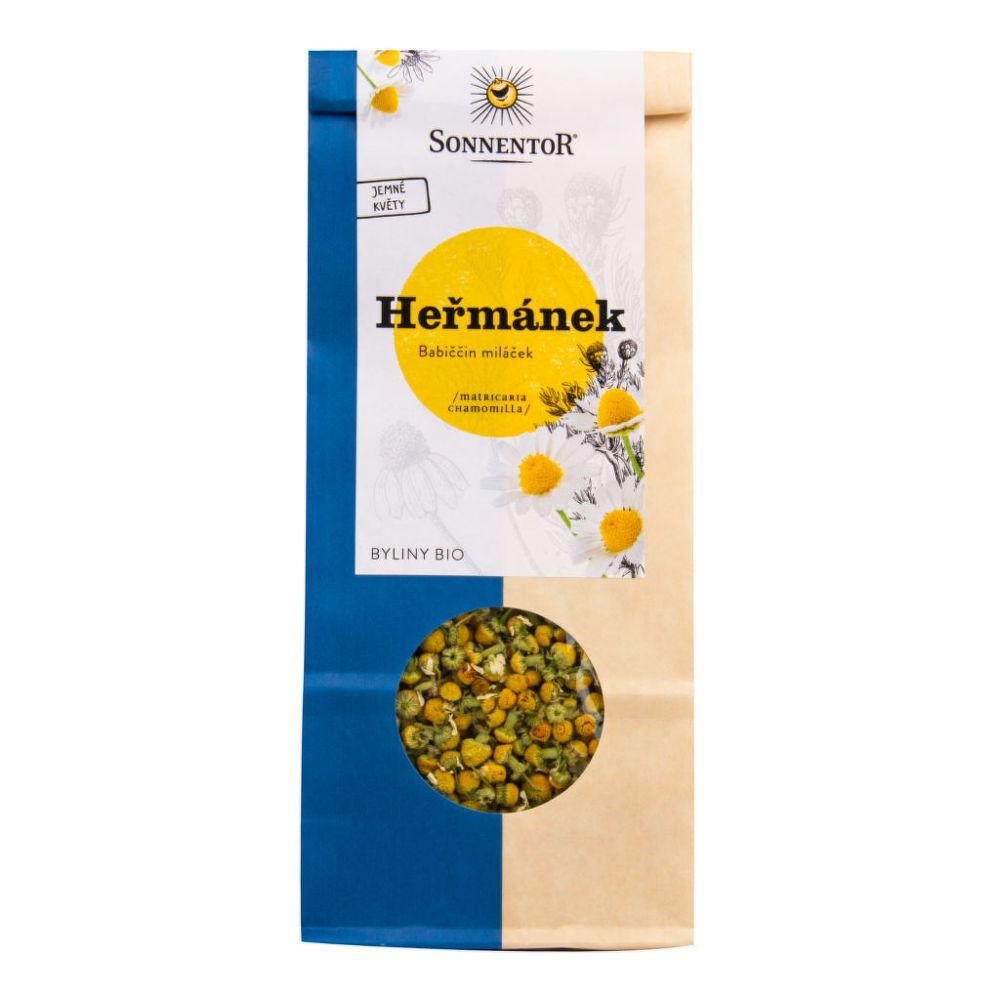 Čaj Heřmánek sypaný 50 g BIO SONNENTOR