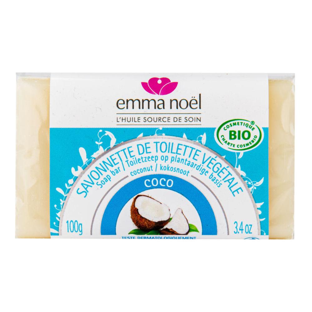 Mýdlo rostlinné kokos 100 g BIO EMMA NOËL