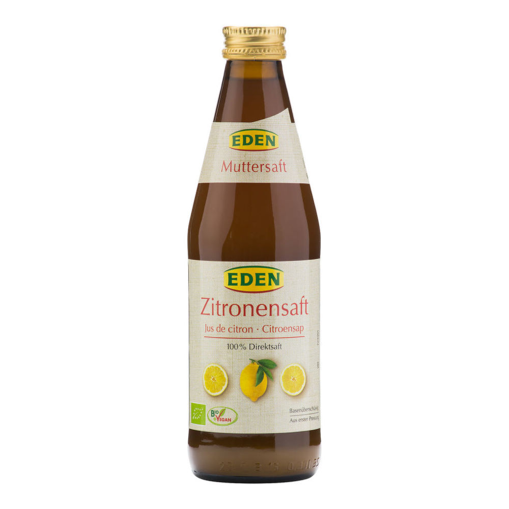 Šťáva citronová 330ml BIO   EDEN