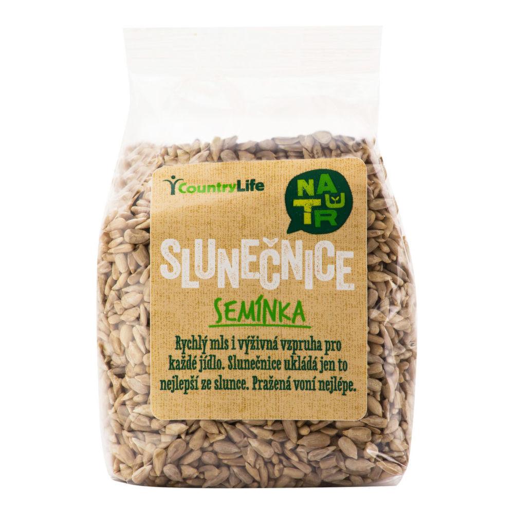 Slunečnicová semínka 250 g COUNTRY LIFE