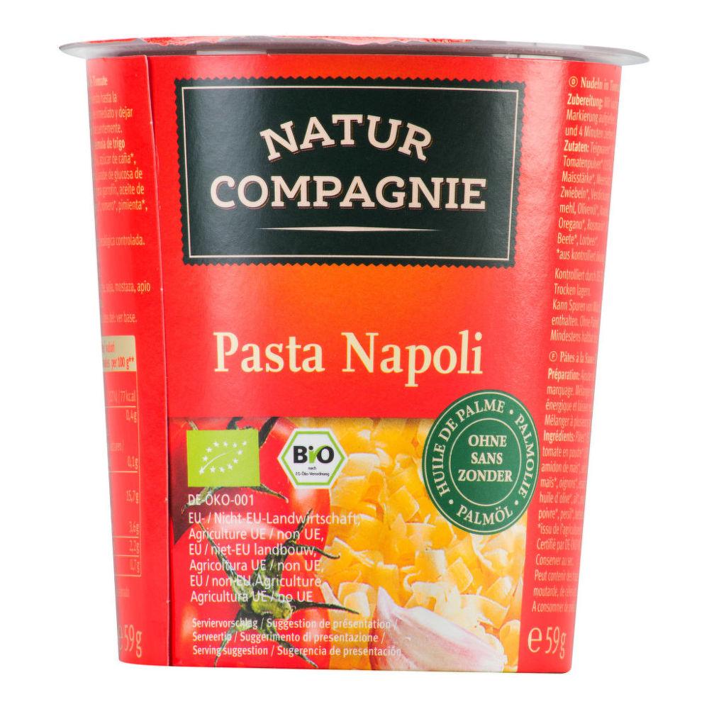 Těstoviny v rajčatové omáčce instantní 59g BIO   NATURCOMPAGNIE