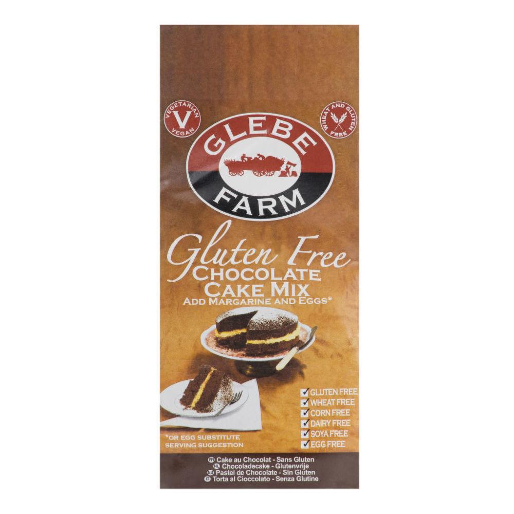 Směs na dort čokoládový bezlepková 300g   GLEBEFARM