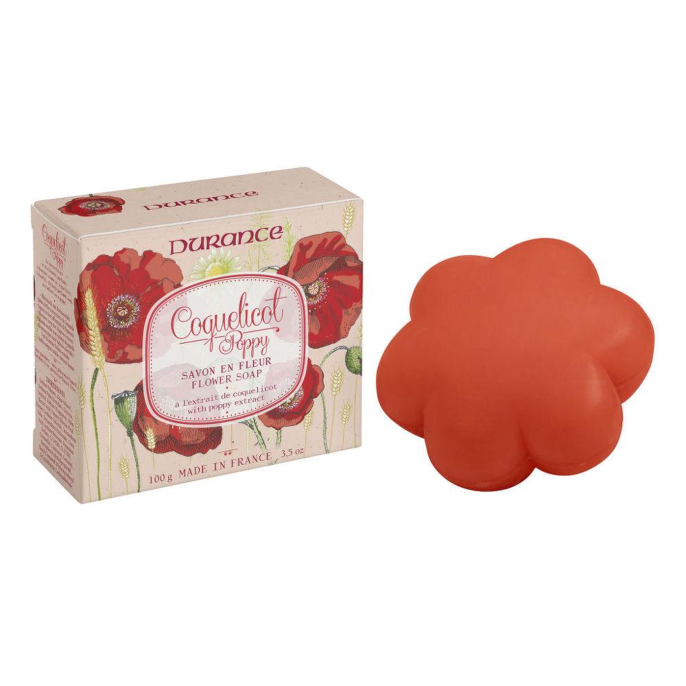 Mýdlo květ coquelicot 100 g   DURANCE