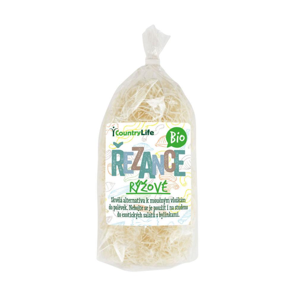 Těstoviny řezance rýžové 200 g BIO COUNTRY LIFE