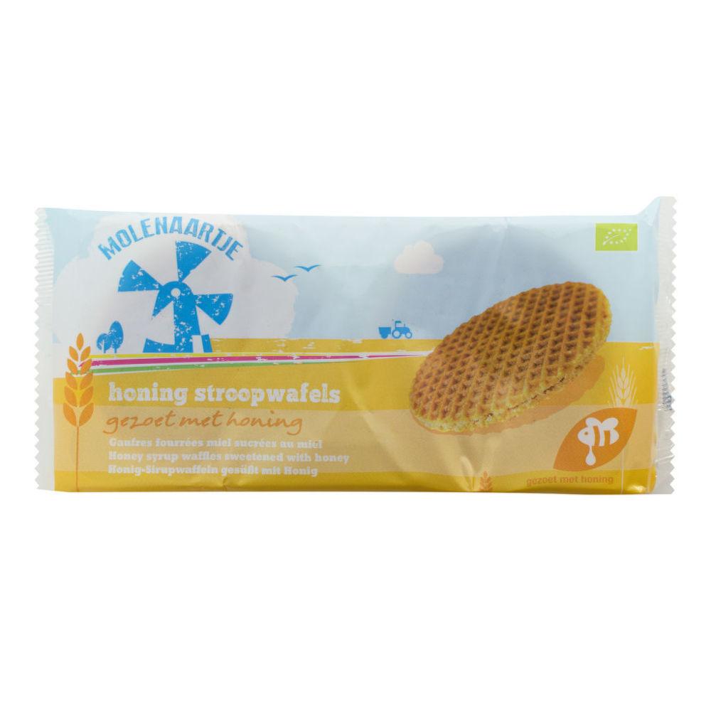 Vafle medové 175 g BIO   MOLENAARTJE