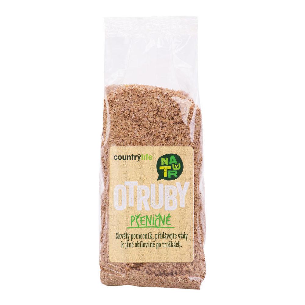 Otruby pšeničné 200g   COUNTRYLIFE