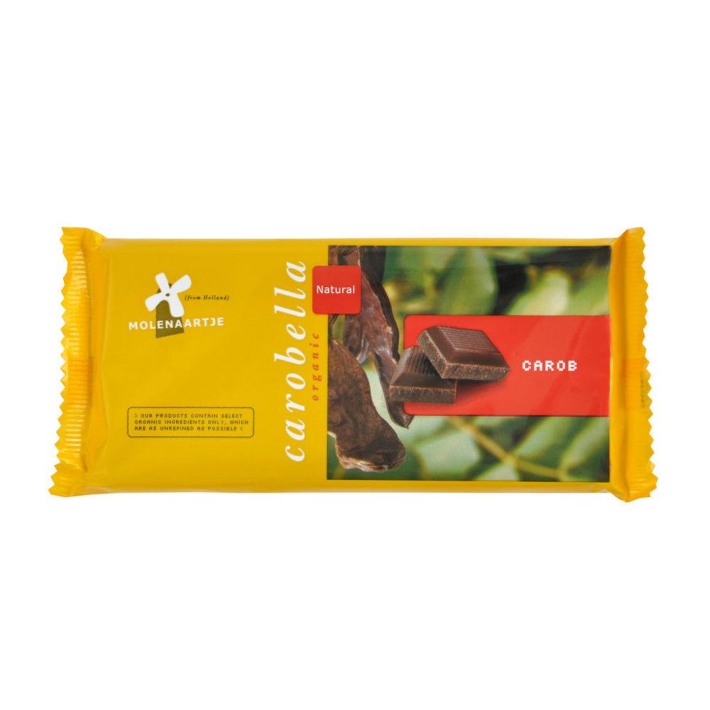 Carobella karobová čokoláda 100 g BIO MOLENAARTJE