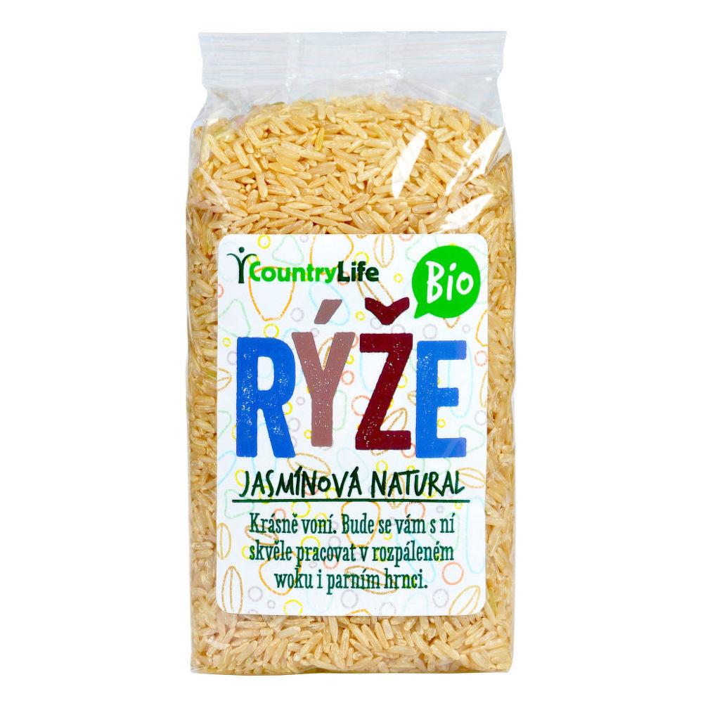 Rýže jasmínová natural 500 g BIO COUNTRY LIFE