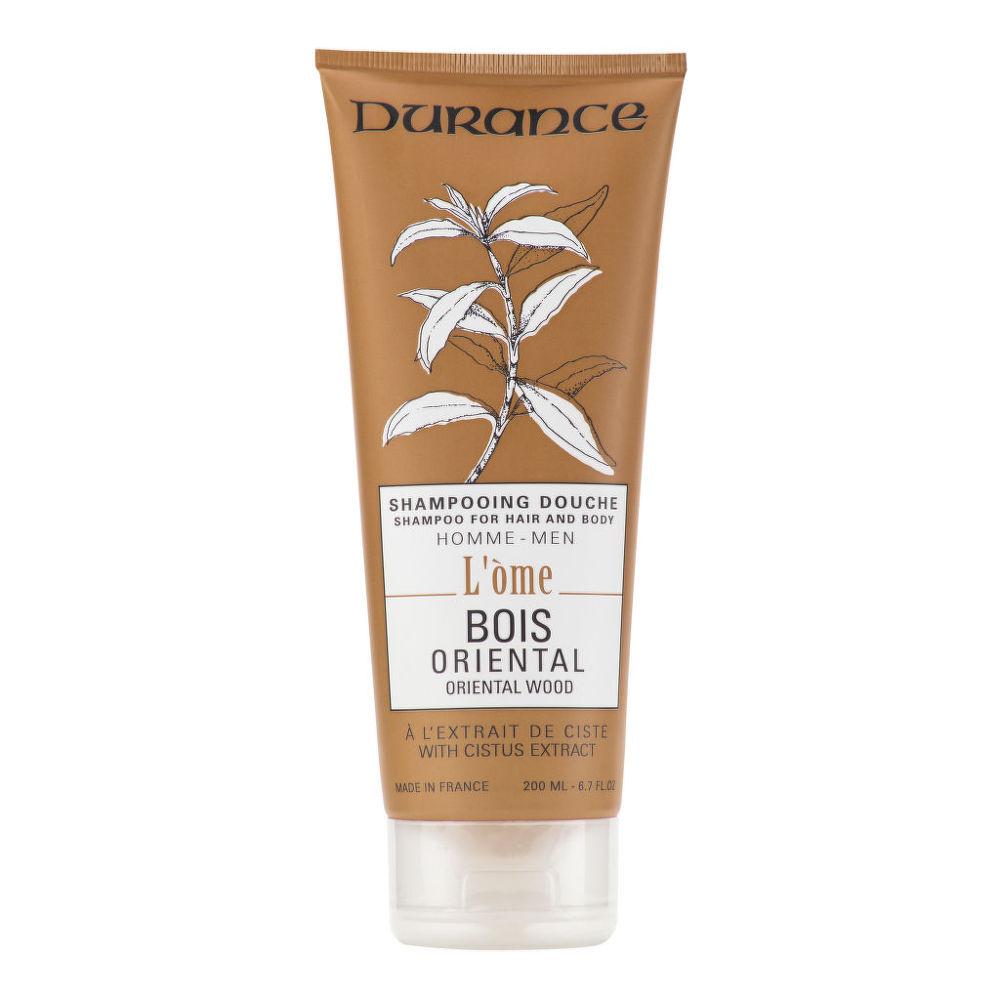 Šampon na vlasy a tělo pánský oriental wood 200 ml DURANCE