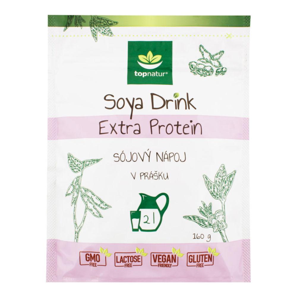 Nápoj Soya Drink Extra Protein instantní 160 g TOPNATUR