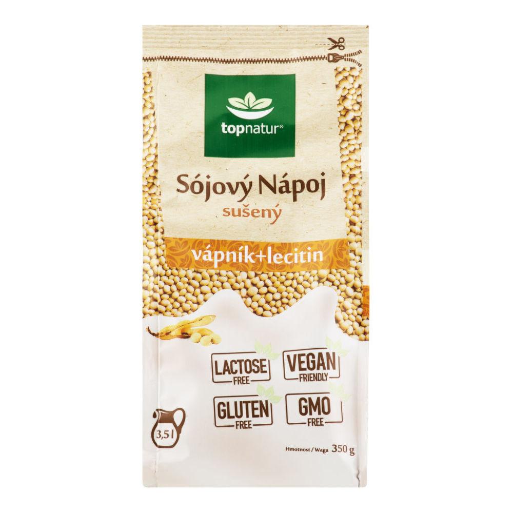 Nápoj sójový vápník lecitin instantní 350g   TOPNATUR