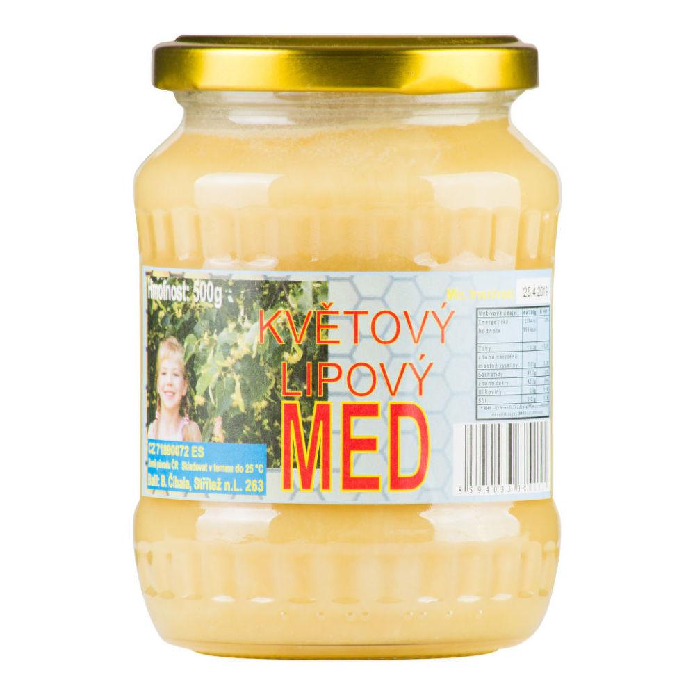 Med květový lipový 500 g   ČÍHALA