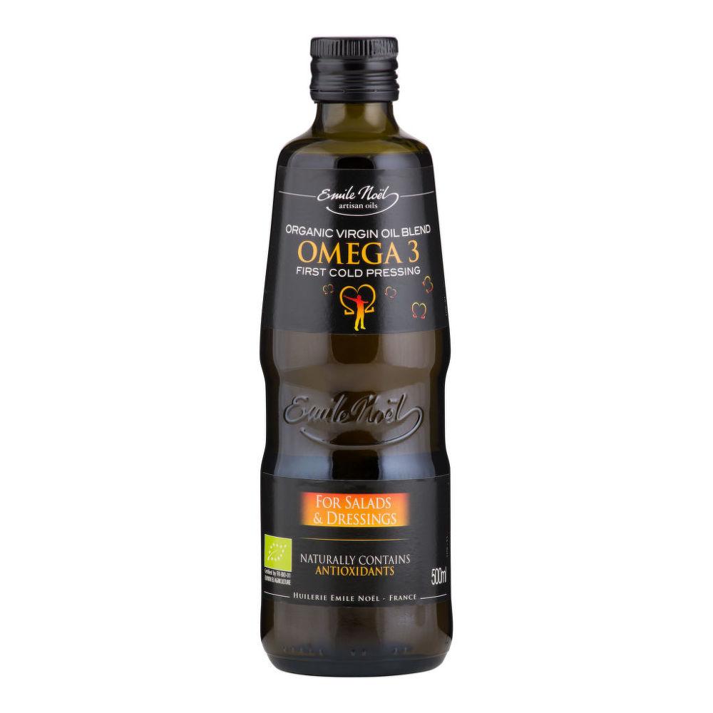 Olej omega 3  0,5 l BIO   EMILENOËL