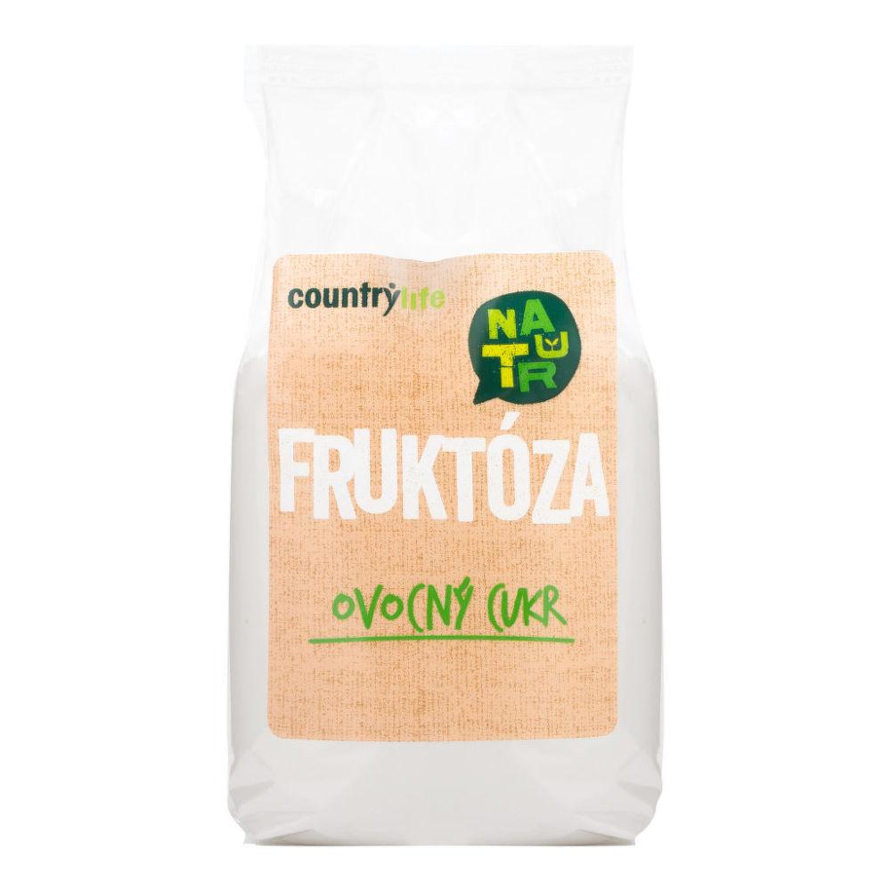 Cukr ovocný fruktóza 500g   COUNTRYLIFE