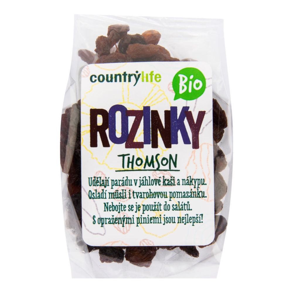 Rozinky Thomson 100 g BIO COUNTRY LIFE