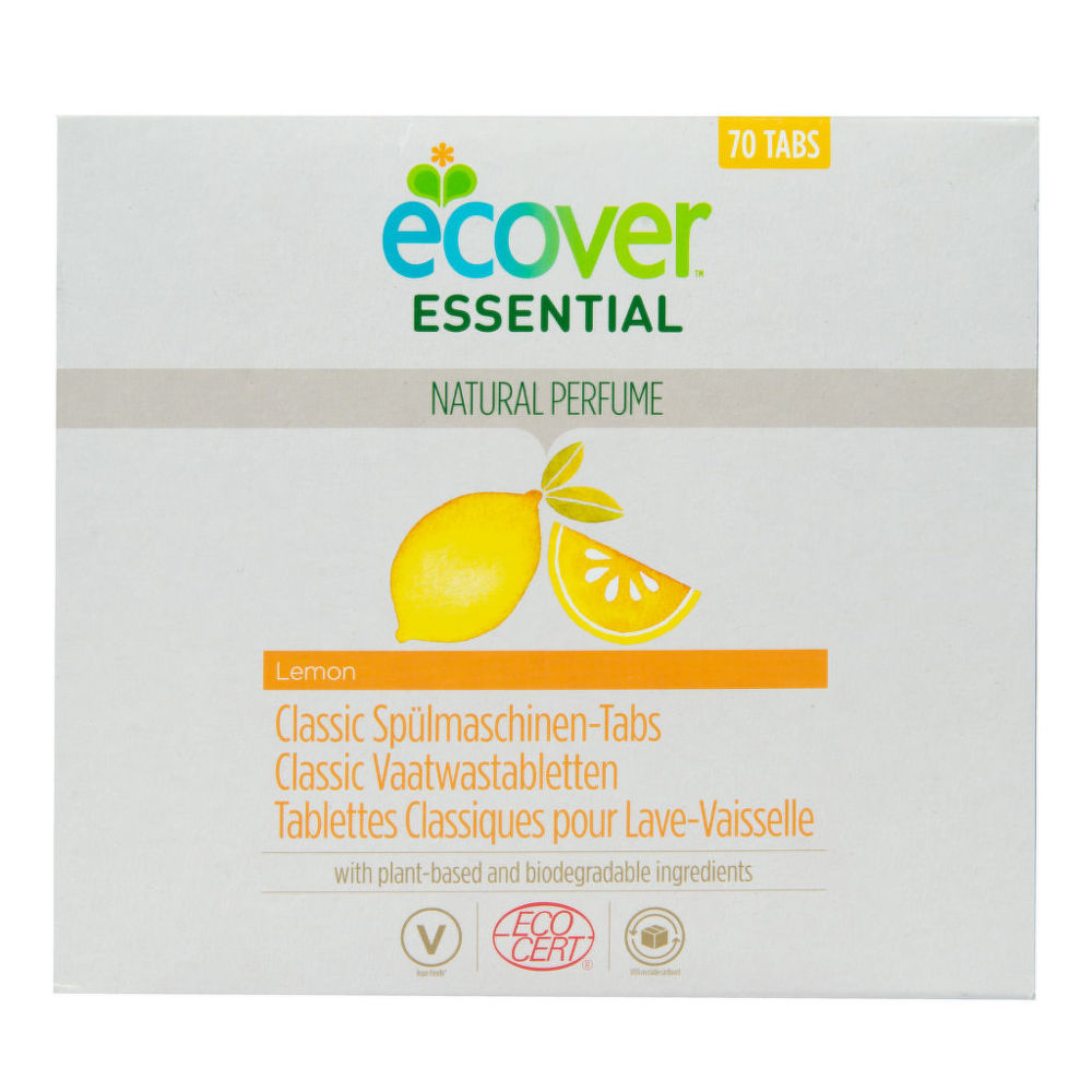 ECOVER tablety do myčky Classic Citron 1,4 kg ECOCERT Bio