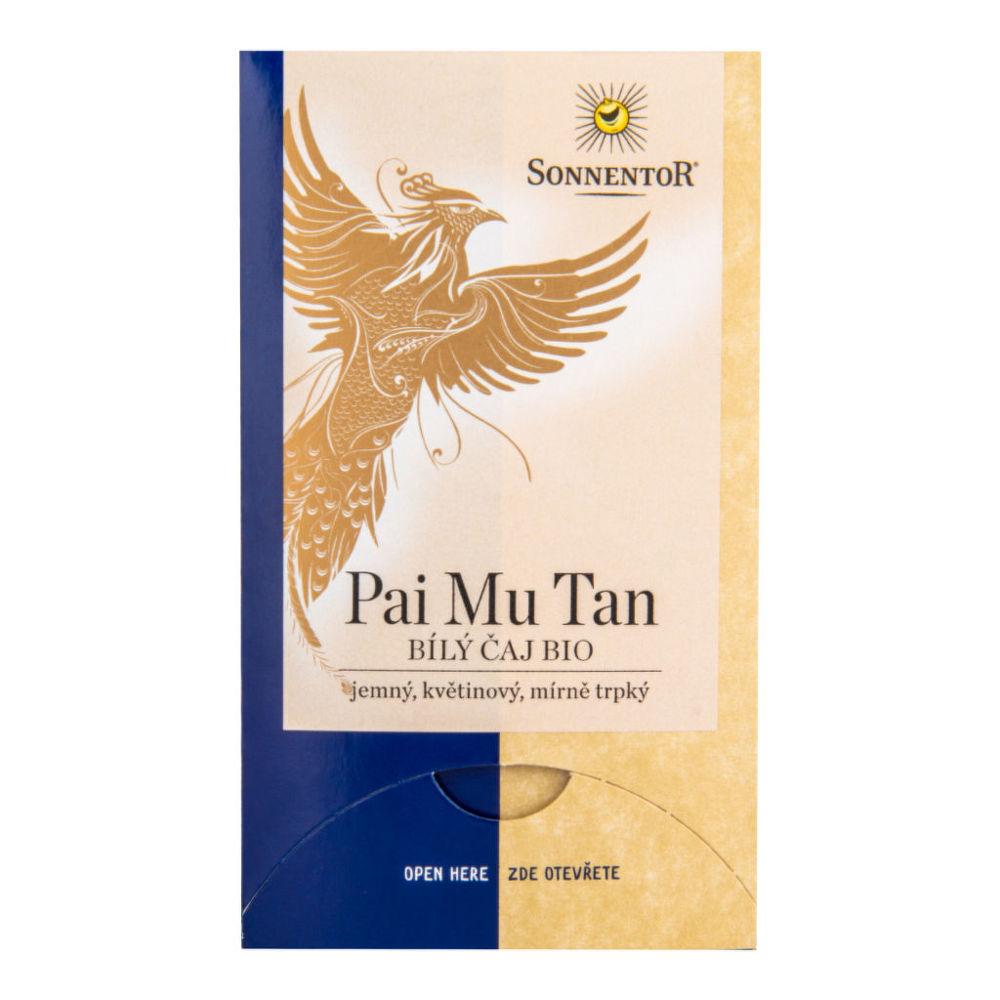 Čaj Bílý Pai Mu Tan 18 g BIO SONNENTOR