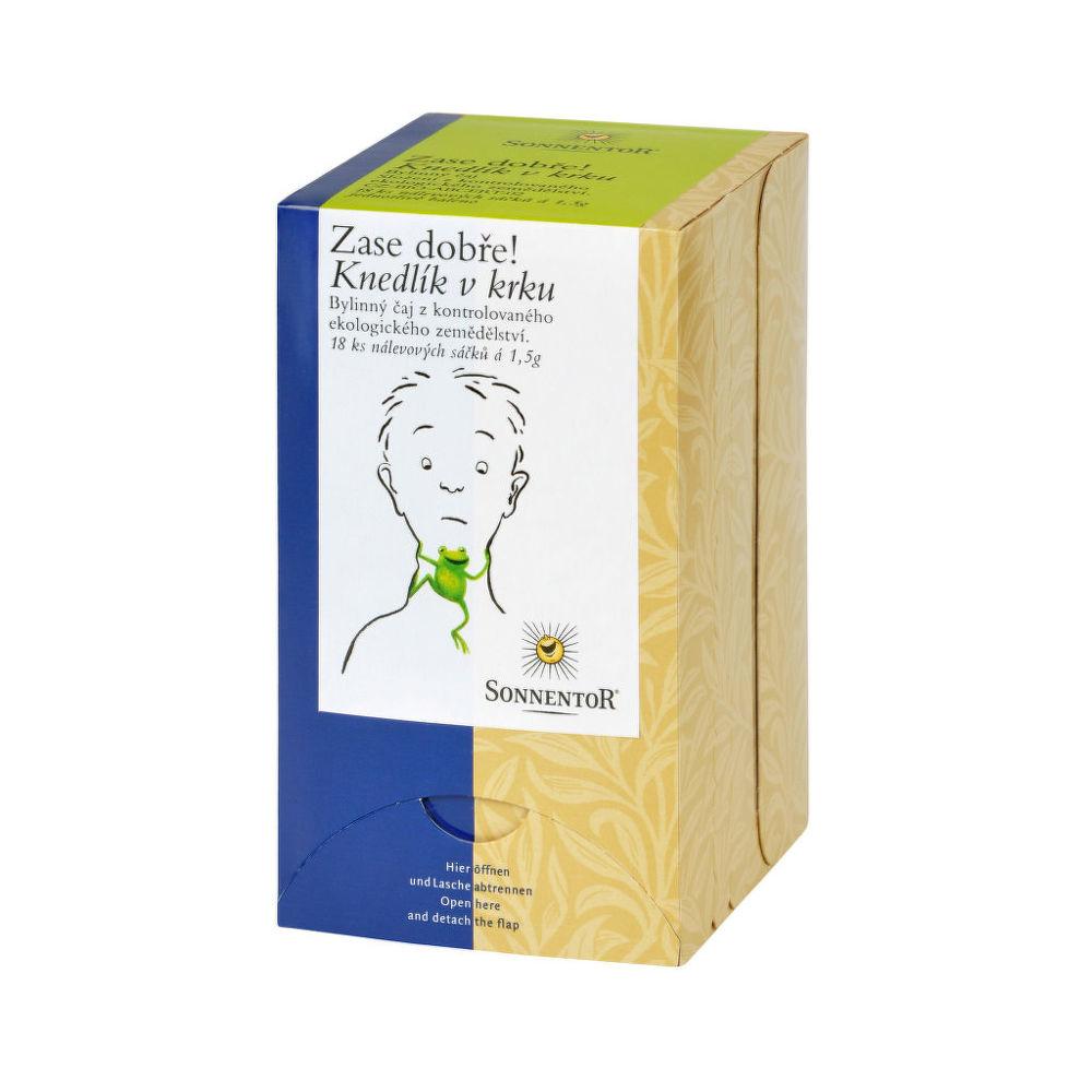 Čaj Knedlík v krku 27 g BIO SONNENTOR
