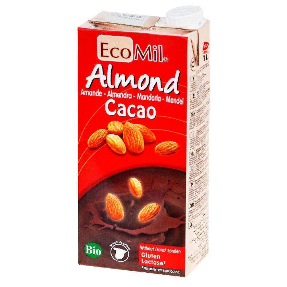Nápoj ze sladkých mandlí kakao 1 l BIO ECOMIL