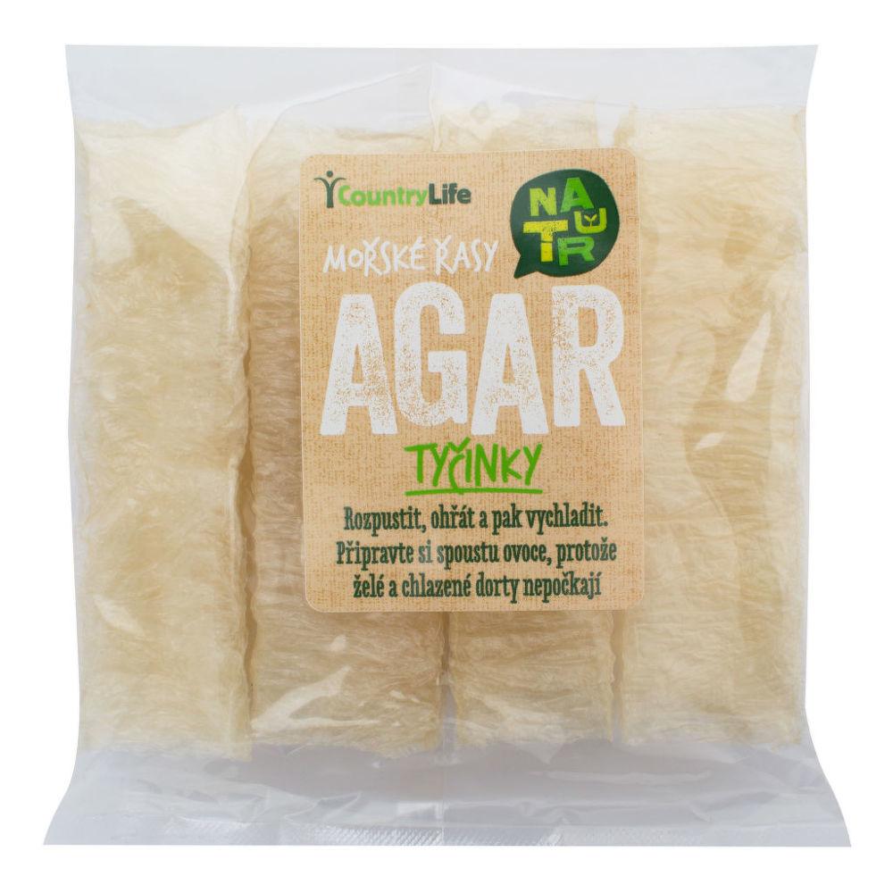Mořské řasy Agar tyčinky 15 g COUNTRY LIFE