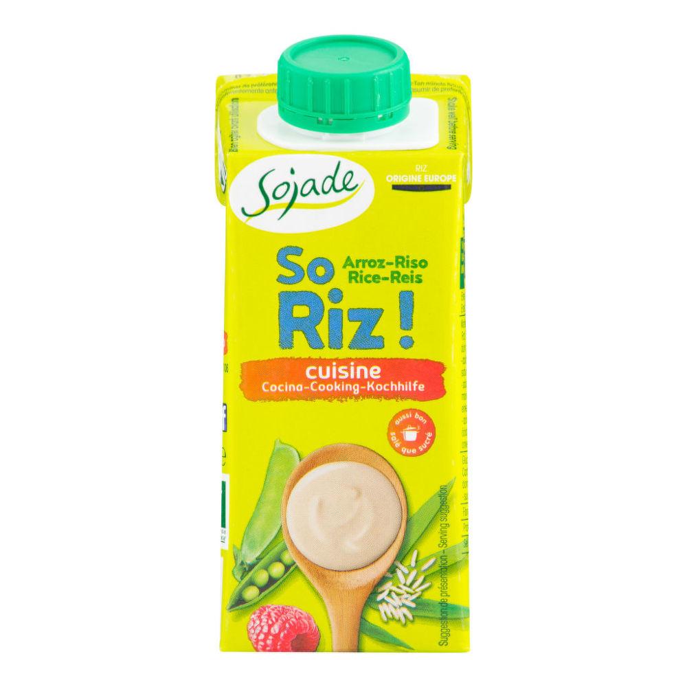 Rýžová alternativa smetany 200ml BIO   SOJADE