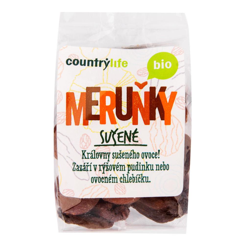 Meruňky sušené 200 g BIO COUNTRY LIFE