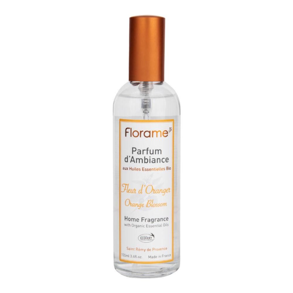 Vůně do bytu pomerančový květ s BIO éterickými oleji 100 ml FLORAME