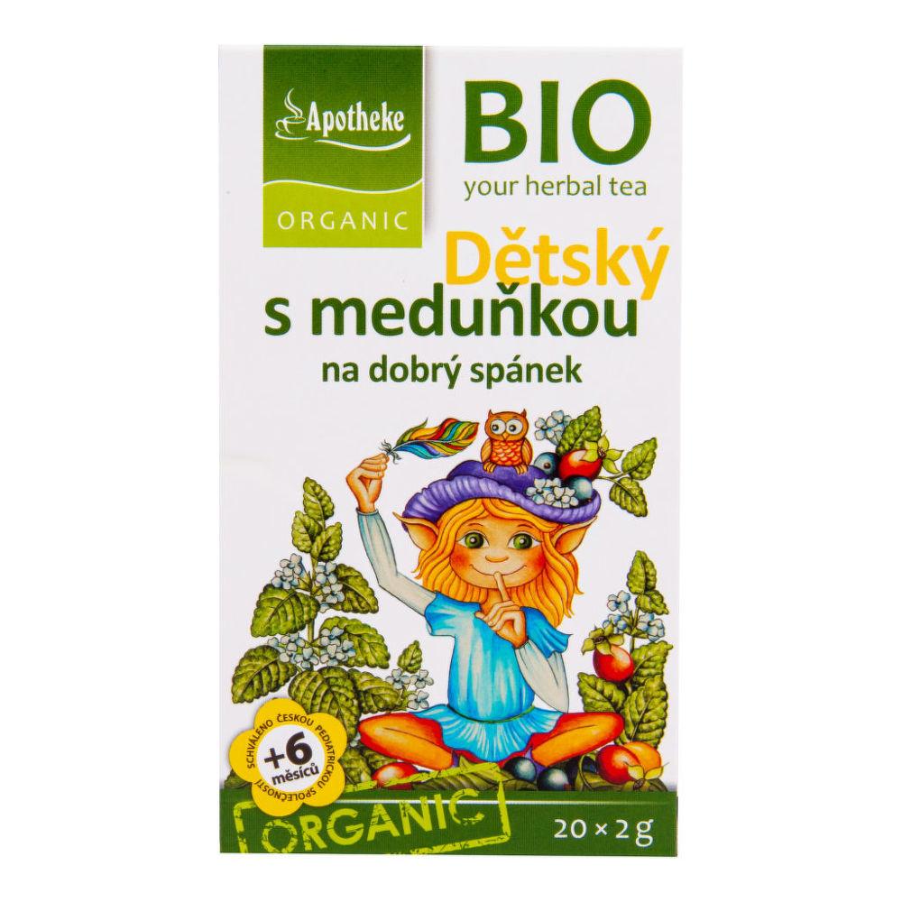 Čaj Dětský ovocný s meduňkou 40 g BIO MEDIATE