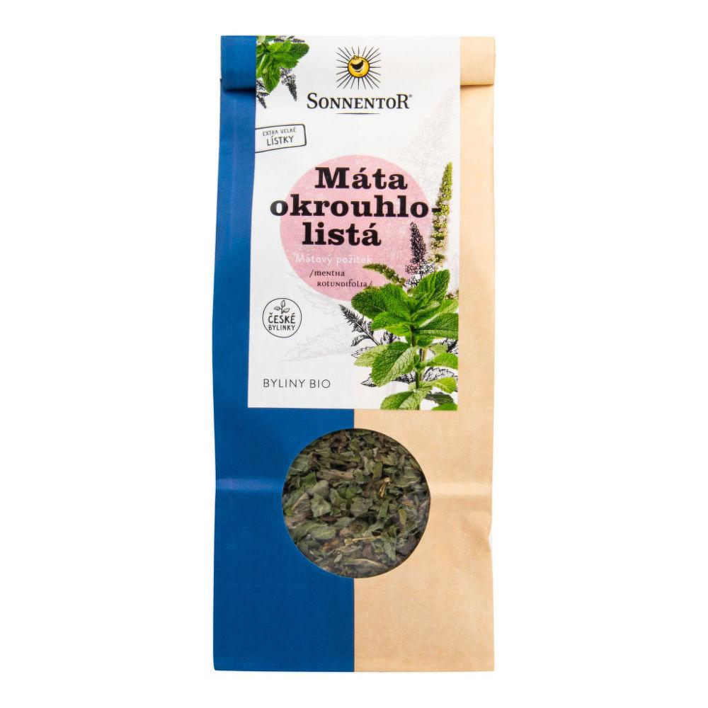 Čaj Máta okrouhlolistá sypaný 50 g BIO SONNENTOR