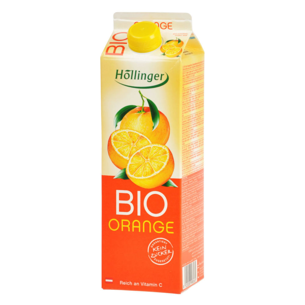 Džus pomeranč 1l BIO   HOLLINGER