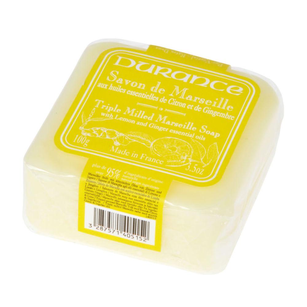 Mýdlo Marseille citron-zázvor 100 g DURANCE