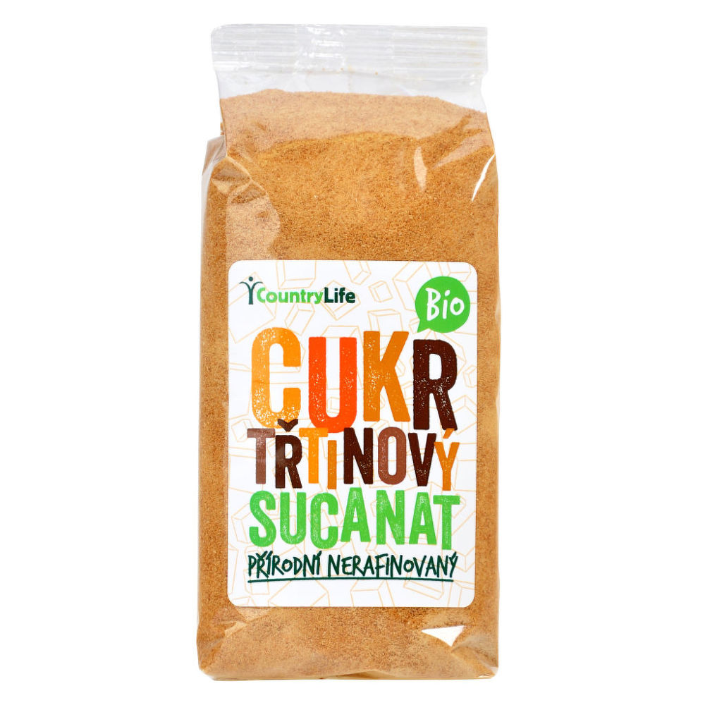 Cukr třtinový Sucanat 500 g BIO COUNTRY LIFE