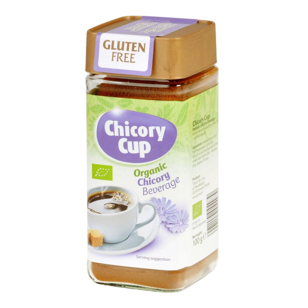 Pražená kávovina z cikorky instantní bez lepku 100 g BIO GRANA