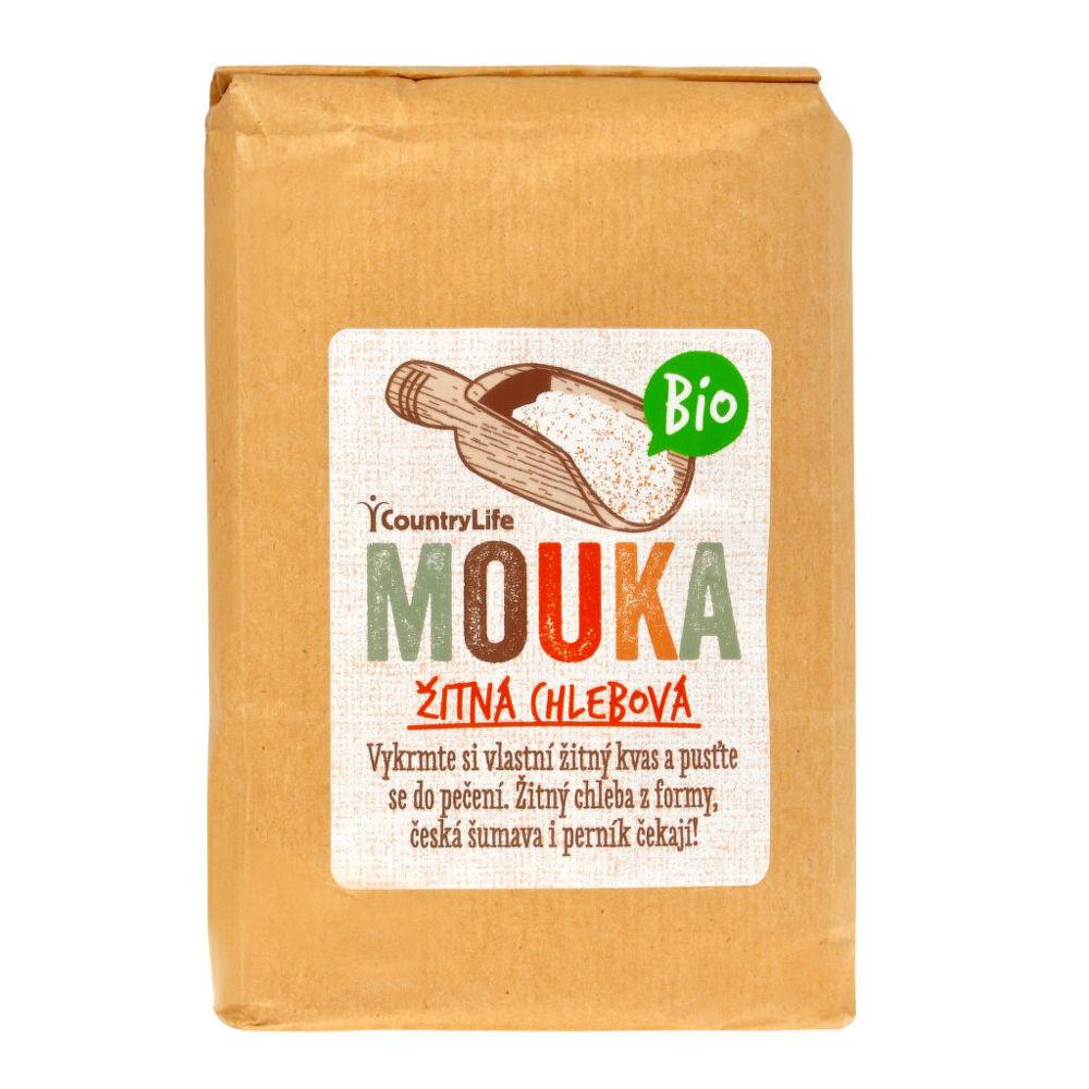 Mouka žitná chlebová 1 kg BIO COUNTRY LIFE
