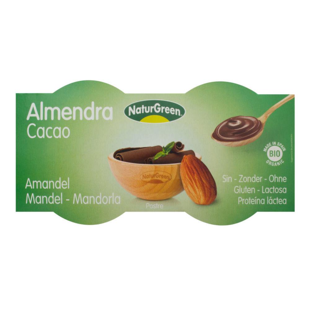 Dezert mandlový s kakaem 2x125g BIO   NATURGREEN