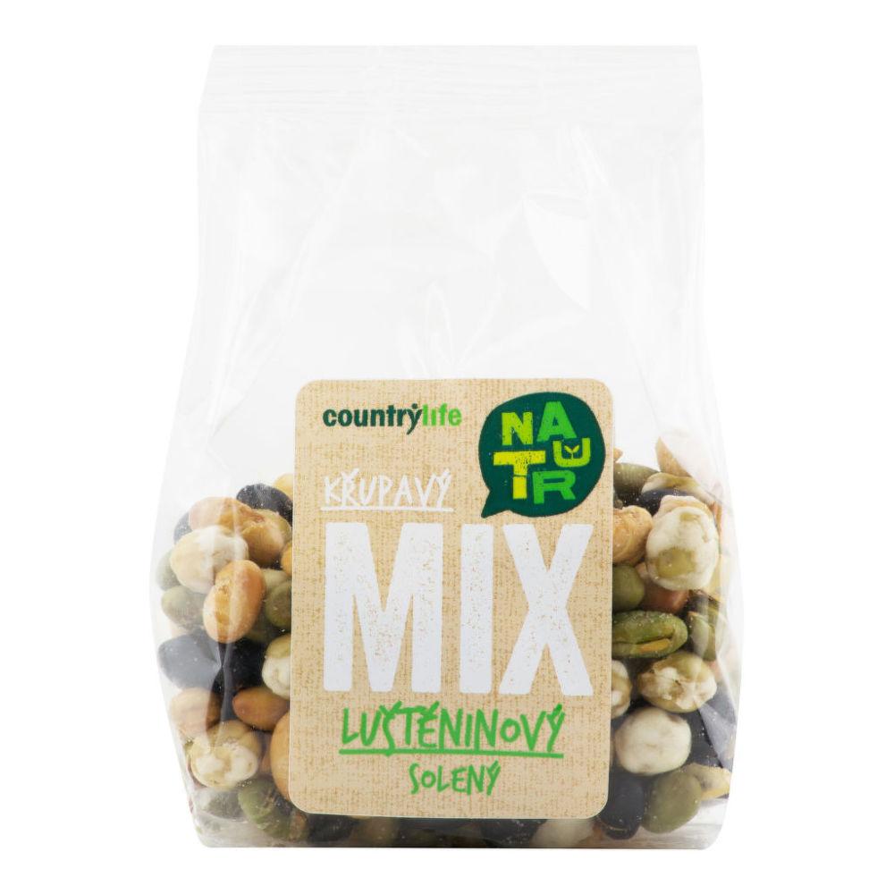 Luštěninový křupavý mix solený 100 g   COUNTRY LIFE