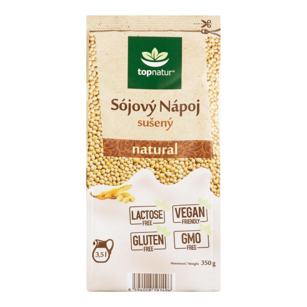 Nápoj sójový natural instantní 350g   TOPNATUR