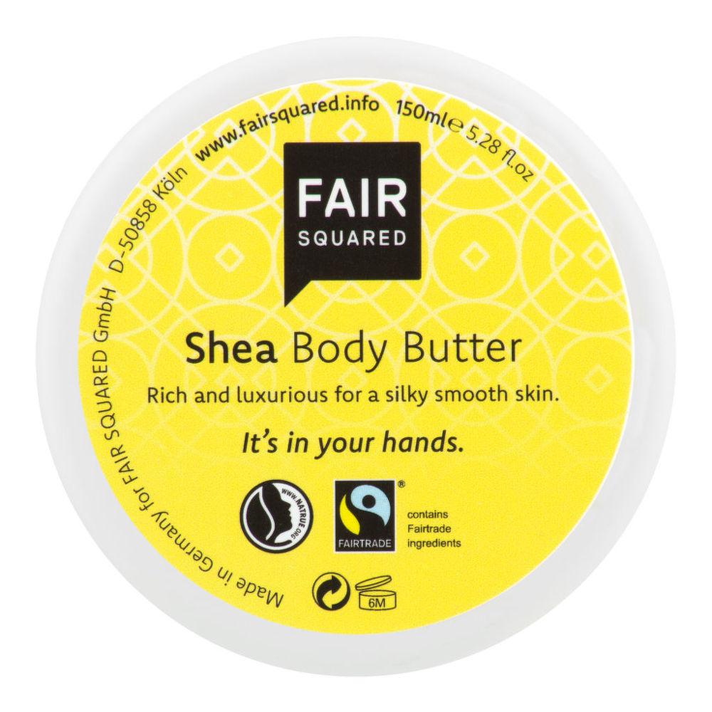 Máslo tělové karité 150 ml   FAIR SQUARED