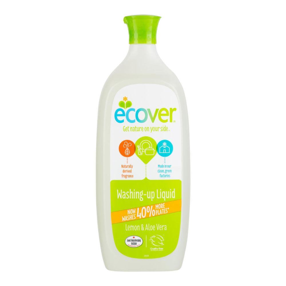 ECOVER  přípravek na mytí nádobí s aloe a citronem 950ml