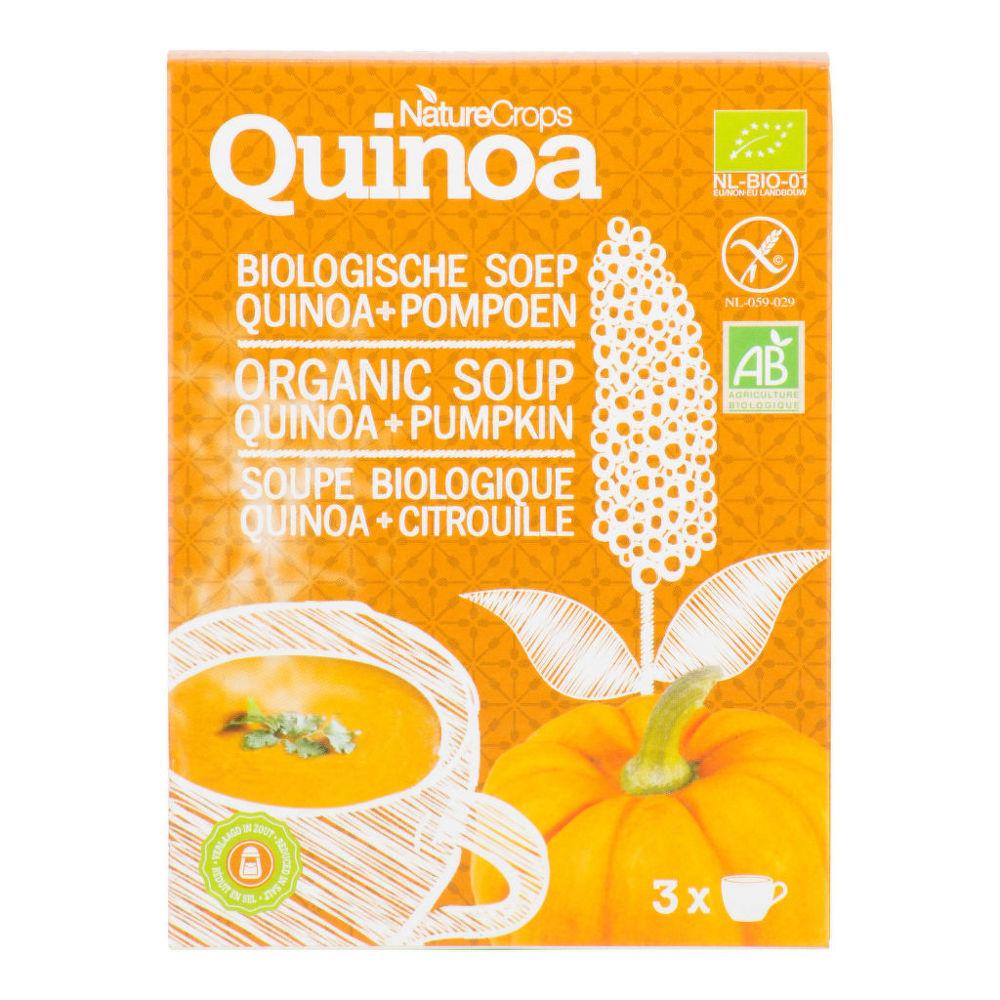 Polévka dýňová s quinoou bezlepková 36g BIO   NATURECROPS
