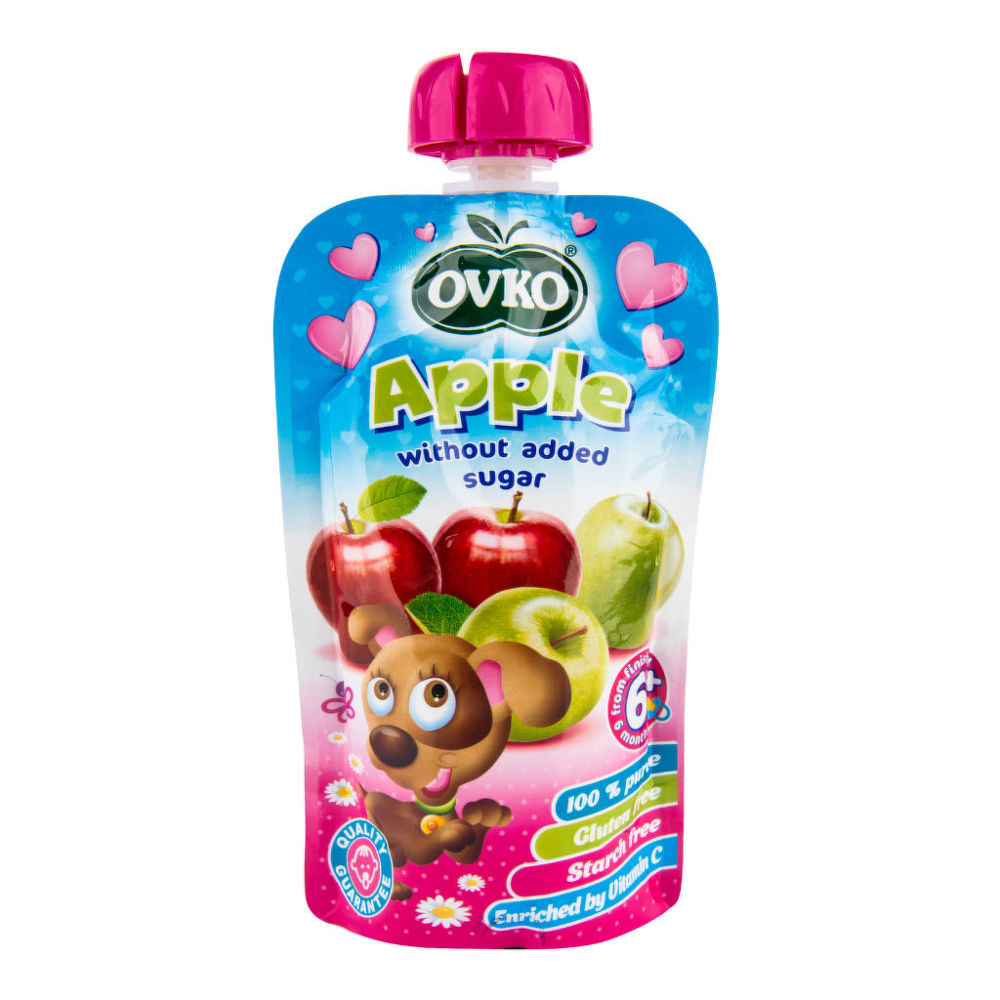 Příkrm jablko 120 g OVKO