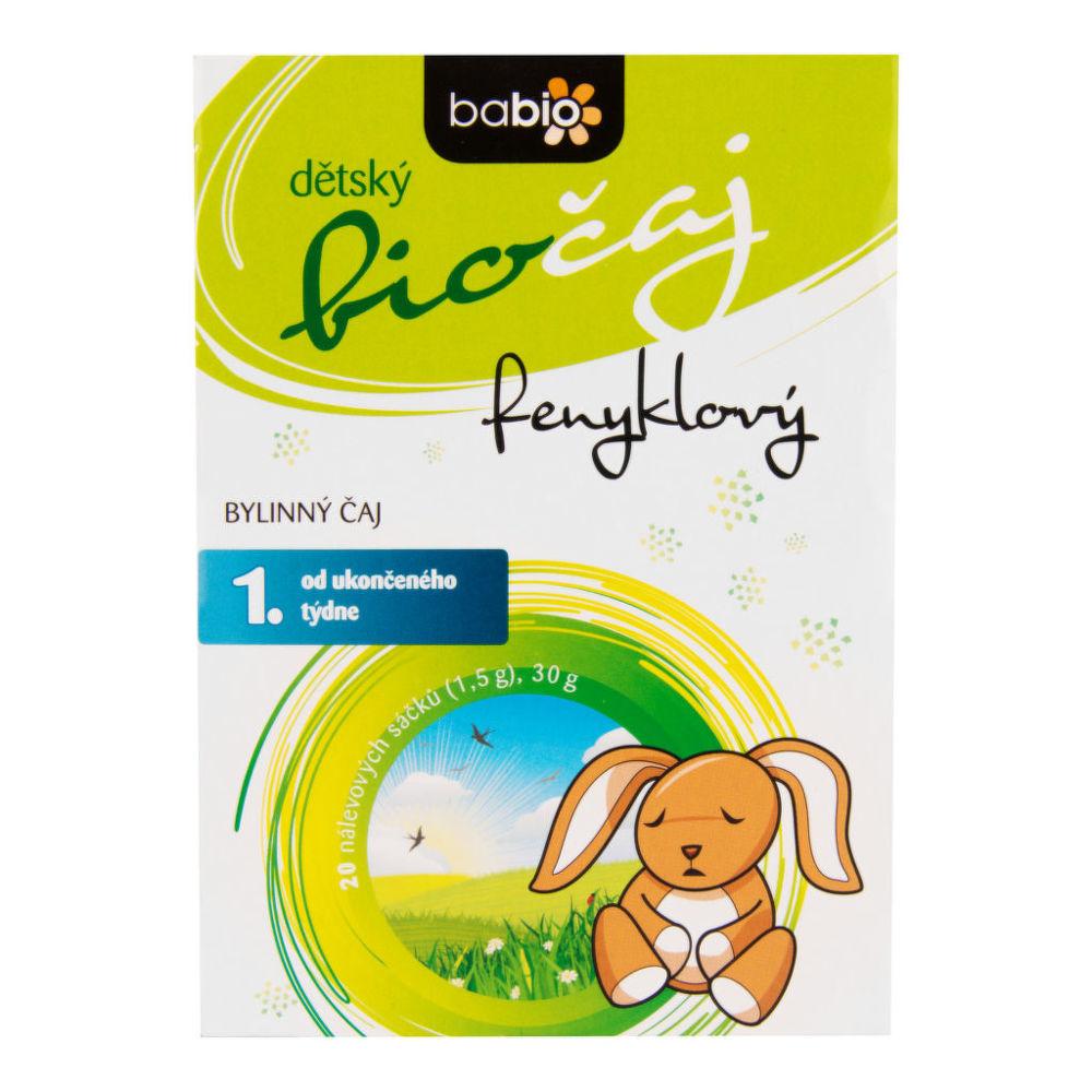 Čaj Fenyklový dětský 30g BIO   BABIO