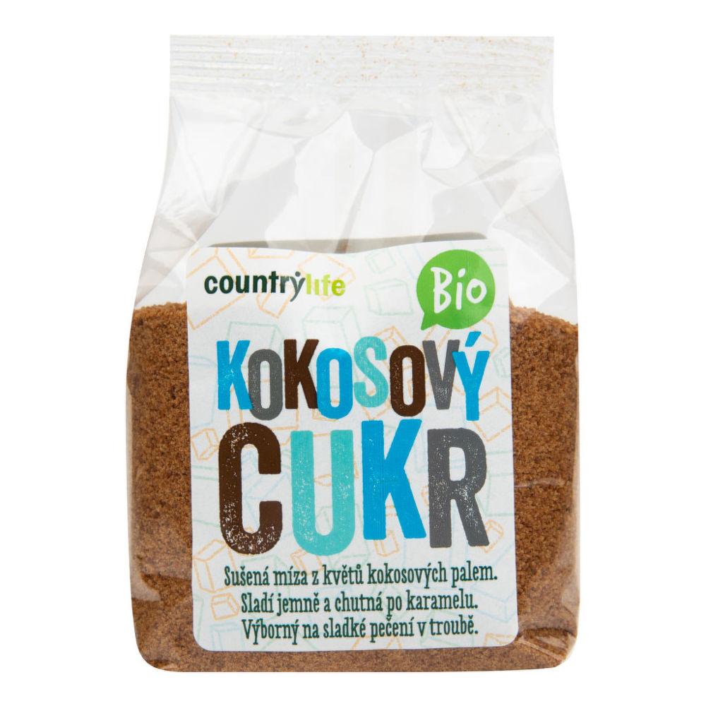 Cukr kokosový 250 g BIO COUNTRY LIFE