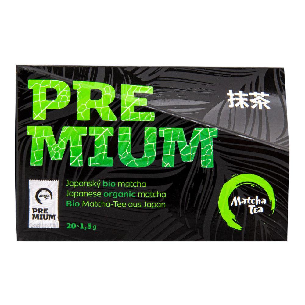 Čajová květina Matcha Tea premium BIO 20 x 1,5 g