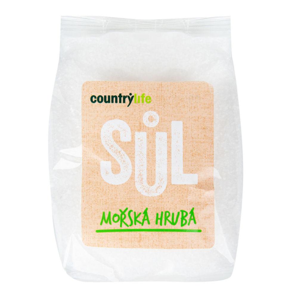 Sůl mořská hrubá 1 kg COUNTRY LIFE