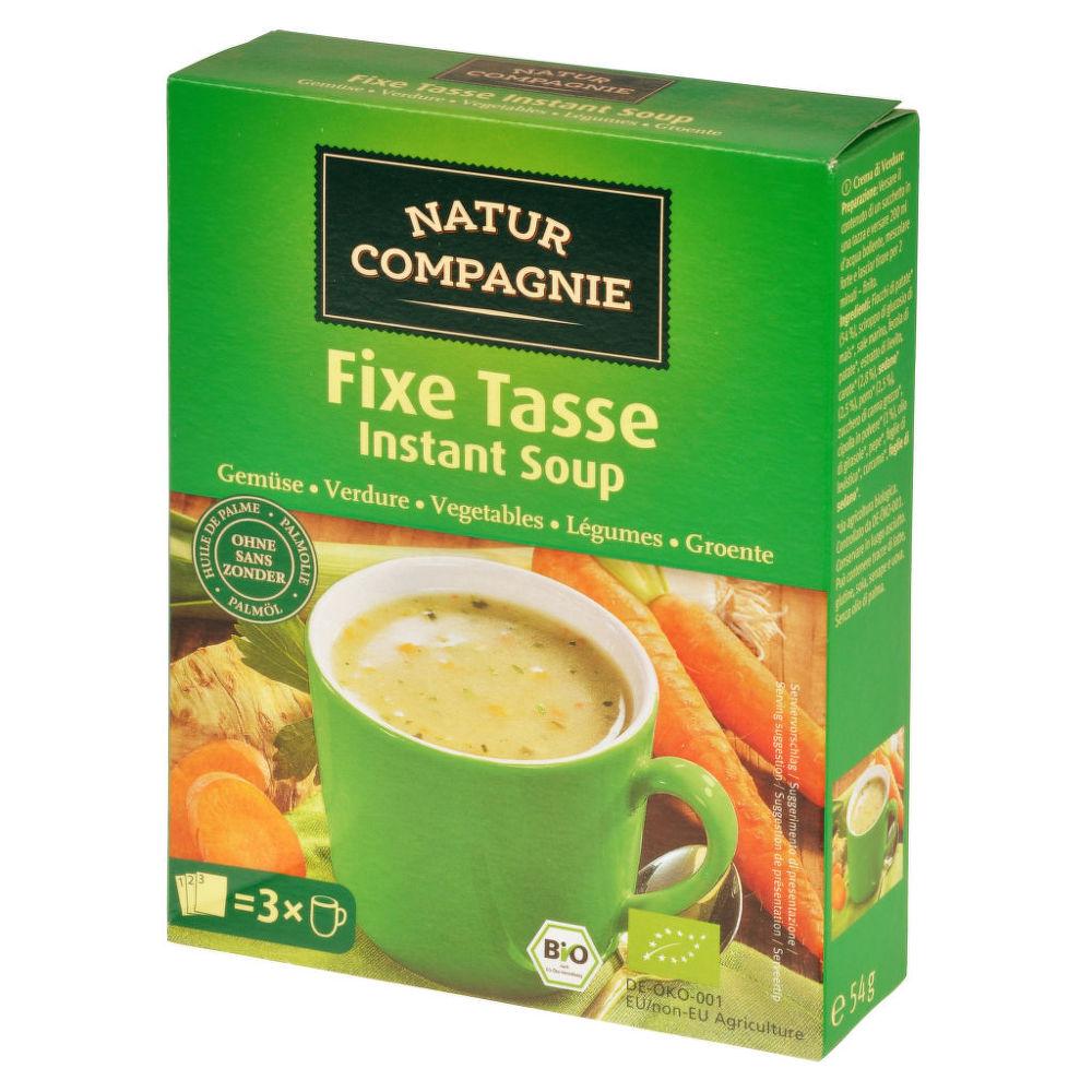 Polévka instantní zeleninová 54g BIO   NATURCOMPAGNIE